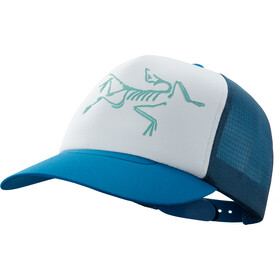 Arc'teryx Bird Trucker Cap, cobalt sun/delos grey